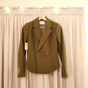 🆕 Babaton Mountain Moss Green Blazer